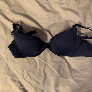 Lightly lined 32A Navy Victoria's Secret Bra
